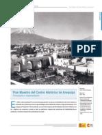 Plan Maestro Centro Historico de Arequipa