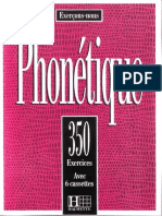 Phonetique 350 Exercices 1