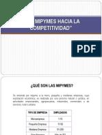 """""""Las Mipymes Hacia La Competitividad"""""""