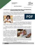 06 de noviembre de 2014-JORNADA DE  PLACAS PALATINAS PARA NIÑOS CON SÍNDROME DE DOWN EN HOSPITAL DE LA NIÑEZ.doc