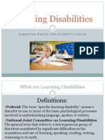 learning disabilities pptx