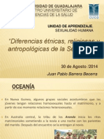 Diferencias Étnicas, Religiosas y Antropológicas de La Sexualidad