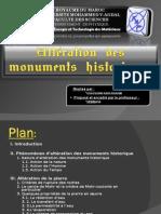 Alteration Des Monuments Historiques