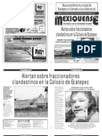 Diario El mexiquense 13 Noviembre 2014