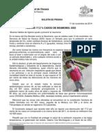 11 de noviembre de 2014.- Reduce 17.2% casos de neumonía, SSO.docx