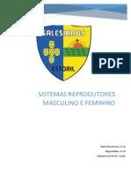 Relatório - Observação de cortes histológicos de ovários e de testículos em preparações definitivas