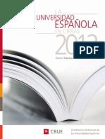 La Universidad Espanola en Cifras