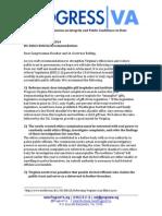 ProgressVA Ethics Recommendations 11.13.14