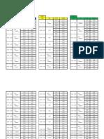Horario paraderos / Hub Timetable