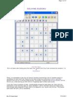 Sudoku Hints