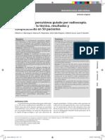 Gastrostomía percutánea guiada por radioscopía. Evaluación de la técnica, resultados y complicaciones en 50 pacientes