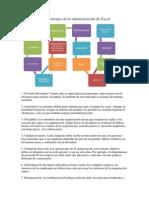 Los 14 Principio de La Administración de Fayol