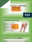 Contractura y Calambre Muscular
