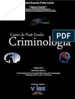 Libro Curso de Post Grado Criminología