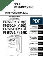 Inversor Transistorizado FR E 510