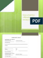 Documentos utilizados en recepción.pptx