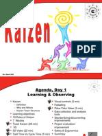 Training slides for Kaizen