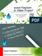 Proposal Kegiatan Ekoteknologi Lingkungan