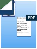 Informe Factores Ecologicos Cap. IV