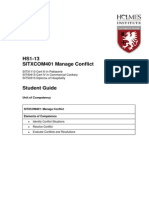 SITXCOM401 Manage Conflict Student Guide WM