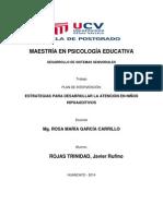 Maestría en Psicología Educativa Tres