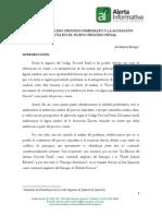 Coexistencia Del Proceso Inmediato y La Acusacion Directa en El Nuevo Proceso Penal