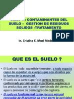 Clase.4 Contaminantes Del Suelo -Tratamiento-Abril 2014-1
