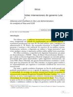 Alianças e Coalizões Internacionais No Governo Lula