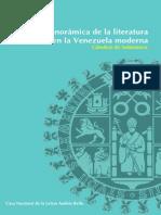 Panorámica de la literatura en la Venezuela moderna   Cátedras de Salamanca