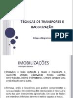 Tecnicas de Imobilizacao e Transporte