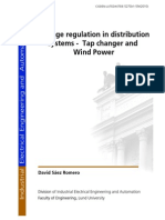 Voltage Regulation in Distribution System