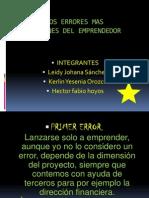 LOS ERRORES MASCOMUNES DELOS EMPRENDEDORES.pptx