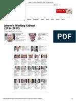Jokowi's Working Cabinet (2014-2019) _ the Jakarta Post