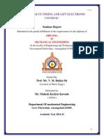Seminar Report on I-Vtec