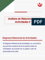 9_Análisis Relacional de Actividades II