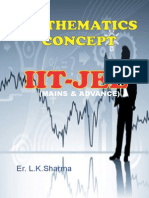 MATHEMATICS THEORY BOOK for IIT-JEE