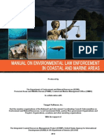 Manual on Environmental Law Enforcement in Coastal and Marin