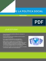 El Tema de La Política Social