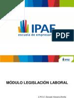 Ponencia Legislacion Laboral IPAE