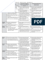 project design rubric v2014