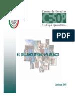 FATST001 El Salario Minimo en Mexico