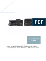 Cisco Small Business 200 Series Smart Switch Administration Guide Release 1.3.0 .pdf