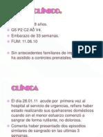 Caso Clinico de Placenta Previa