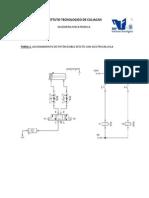 Accionamiento de cilindro de doble efecto con electrovalvula