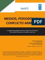 Medios Periodismo y Conflicto Armado