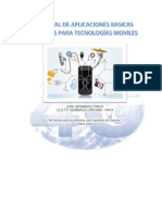 Manual de Aplicaciones Para Tecnologías Mobiles