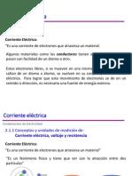 Corriente Eléctrica - Ley de Ohm
