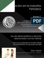 Legislación en la Industria Petrolera.pptx