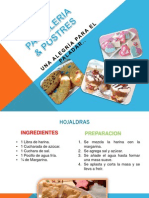 Pasteleria y Postres