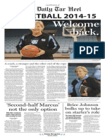 The DTH presents the 2014-15 Basketball Tab
